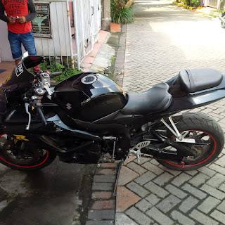 WTS : Suzuki Gixxer 600 K7 Istimewa (NP) - SURABAYA