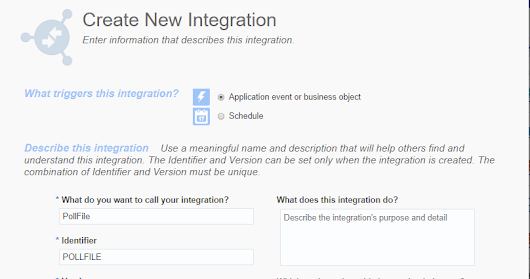 Poll File from Agent server leveraging File Adapter: Integration Cloud