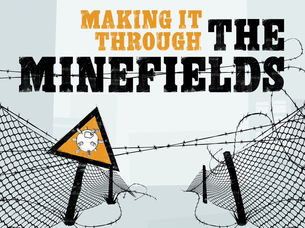 The minefield