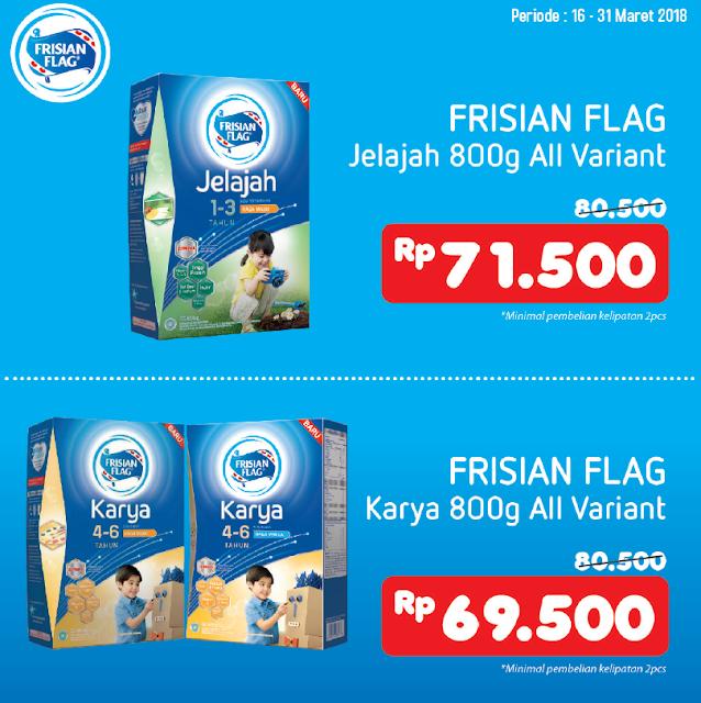 Dapatkan Promo Susu Frisian Flag di Alfamidi terdekat.