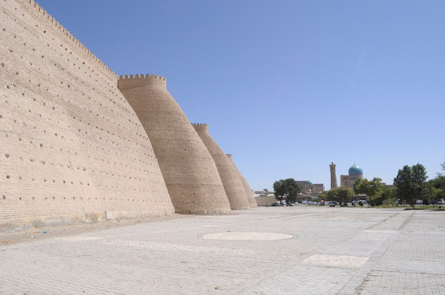 The Ark Citadel In Bukhara Uzbekistan
