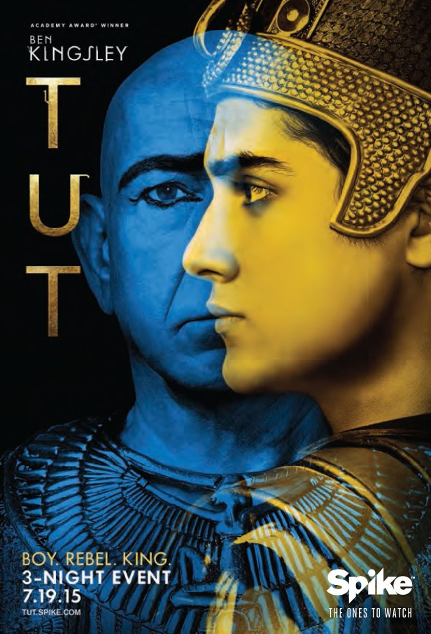 tutanchamon miniserial recenzja plakat ben kingsley