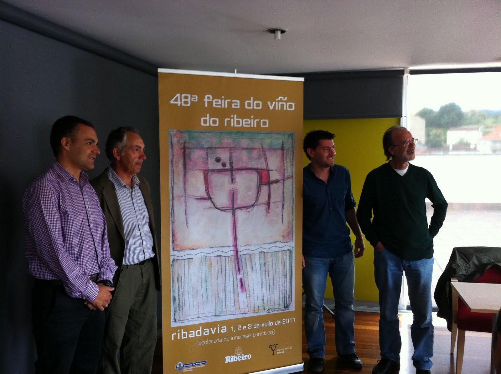 Do Gran Pan Nito Contreras Firma El Cartel De La Pr Xima Feira  # Muebles Cuinas Ribadavia