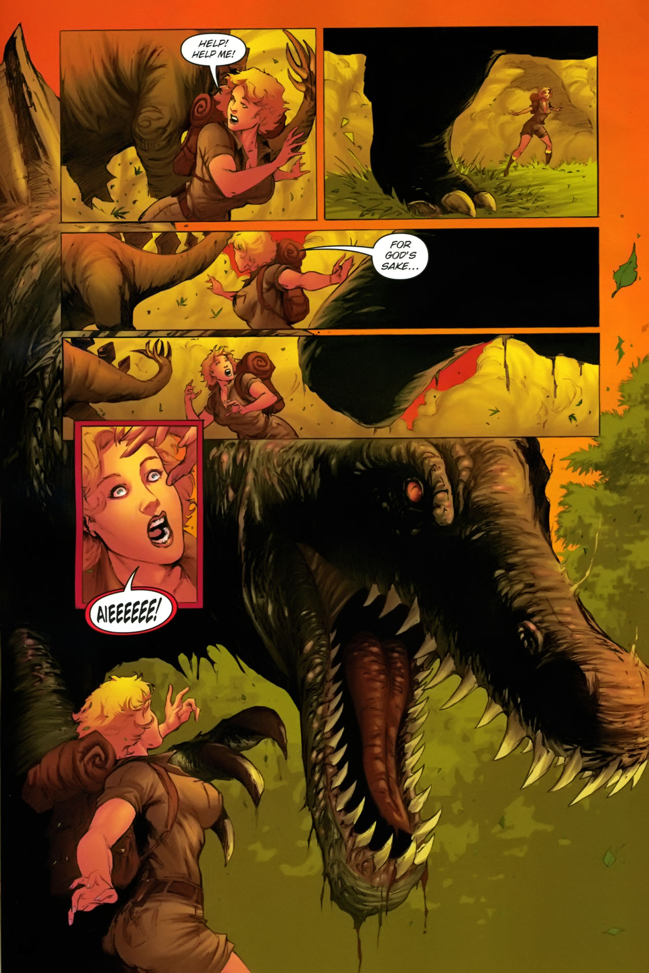 Read online Jungle Girl comic -  Issue #2 - 15