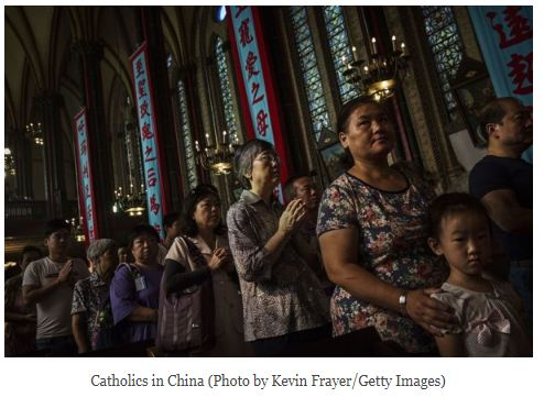 China bans Children from attending Church Services
