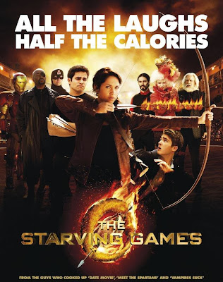 Poster Of Hollywood Film The Starving Games (2013) In 300MB Compressed Size PC Movie Free Download At worldfree4u.com