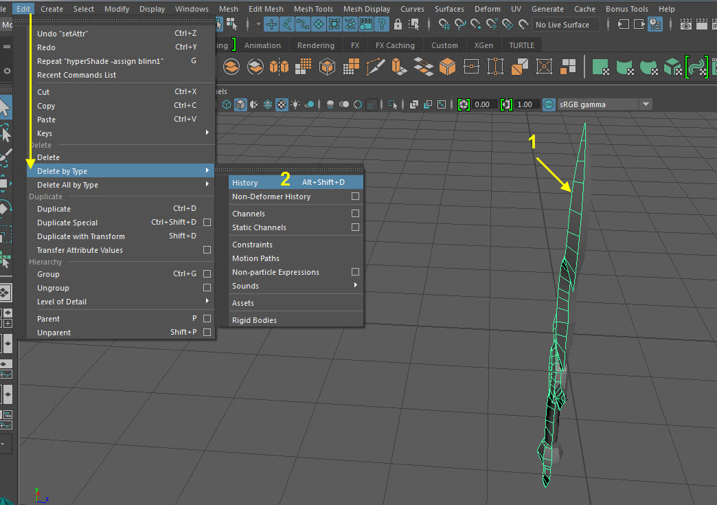 Blade UV Mapping 15