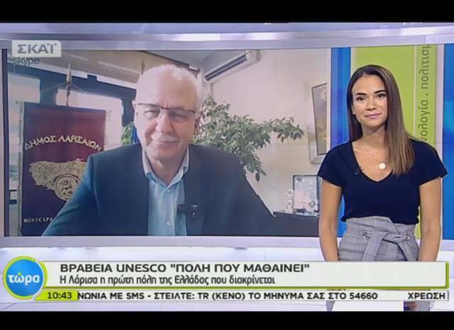 Η πόλη της Λάρισας απασχόλησε με θετικό τρόπο τα ΜΜΕ πανελλήνιας εμβέλειας