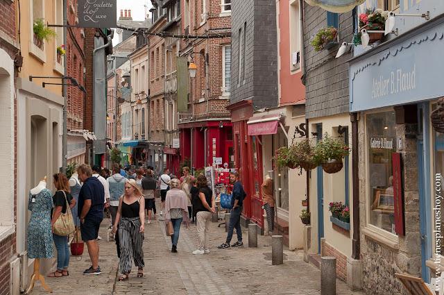 Honfleur viaje Normandia itinerario calles encanto turismo