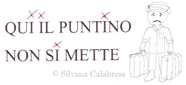 No puntini sulle i maiuscole Silvana Calabrese -Blog