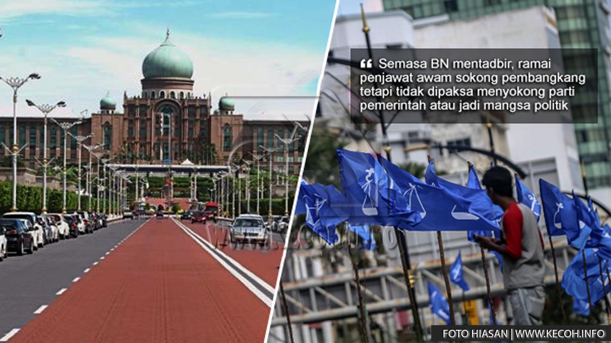 UMNO Gesa Kerajaan PH Layan Penjawat Awam Pro BN Dengan Adil