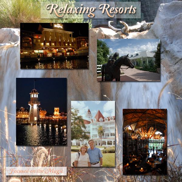 Disney's Relaxing Resorts