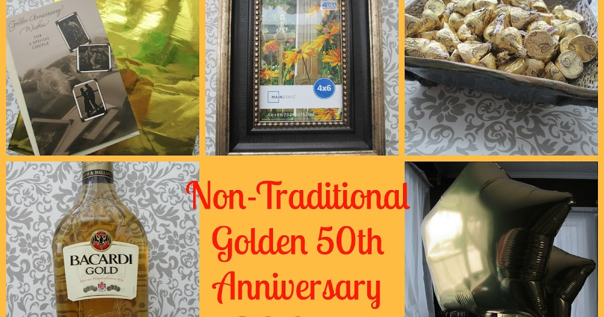 50th Wedding Anniversary Traditional Gifts: Save Green Being Green: Non-Traditional Golden 50th