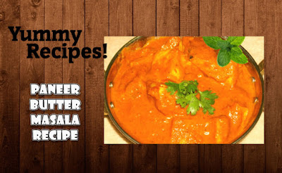 Paneer Butter Masala Gravy Recipe - How to Make Paneer Butter Masala
