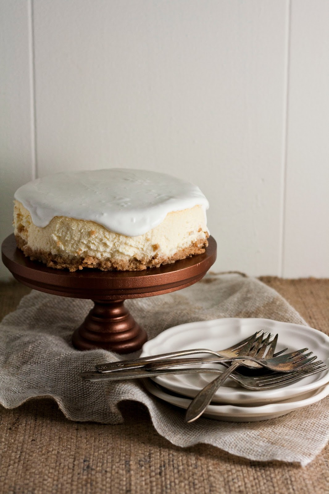 Miette Is Famous For Making Small Cakes For Instance This Cheesecake Is Baked Using A 6 Inch Springform Pan
