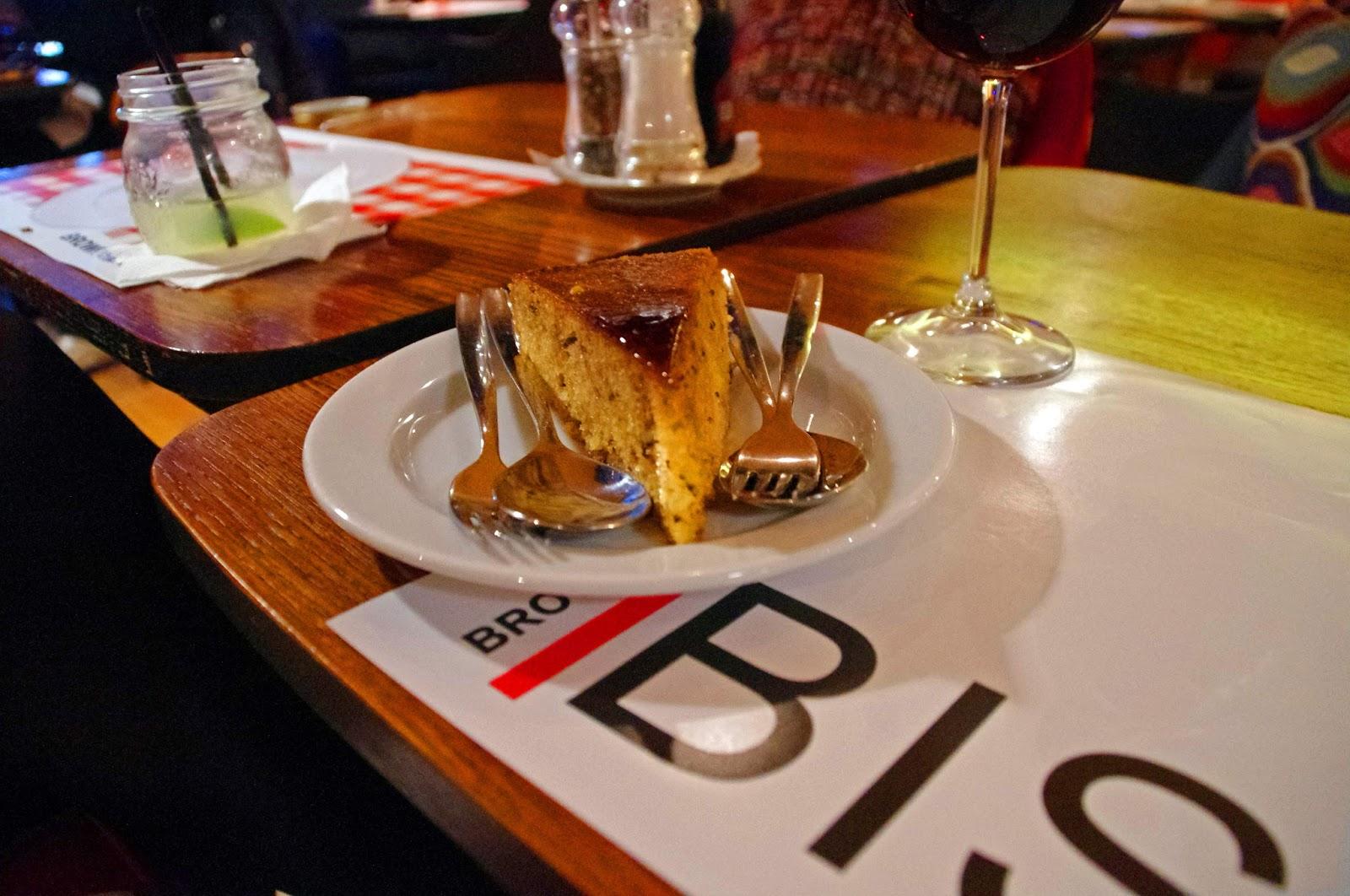 Dessert at Brown's Central Hotel Lisbon Bistro