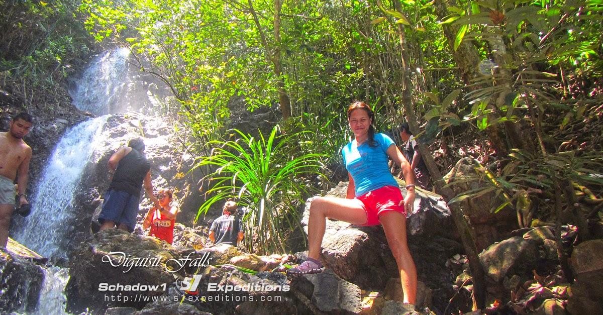 Diguisit Falls, Baler - Schadow1 Expeditions