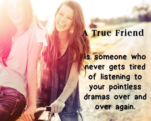 A True Friends Whatsapp DP For Girls
