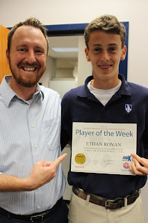 Ronan Named MaxPrep Soccer Player of the Week 1