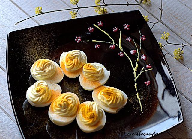 Uova mimosa allo yogurt ricetta antipasti di Pasqua