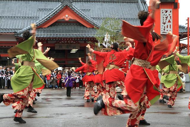 Yahiko Yukake Matsuri (Hot Water Festival) at Yahiko Village, Niigata