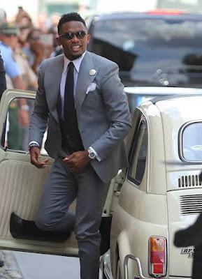 Photos: Samuel Eto weds girlfriend Georgette