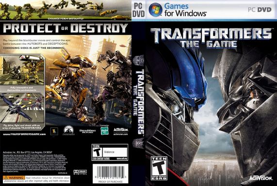 Transformers The Game Highly Compressed 158 MB Free Download