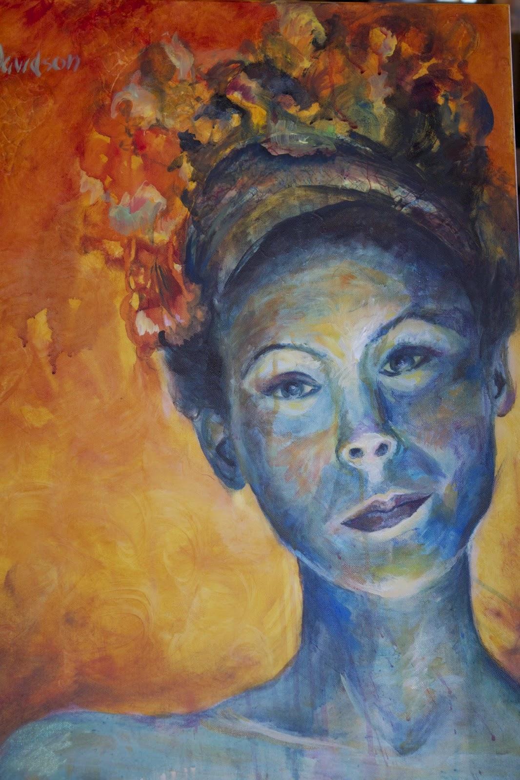 Artist Elaine Davidson
