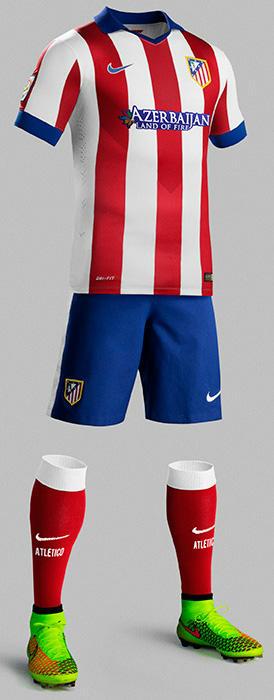 Neue Atlético Madrid 14-15 Trikots