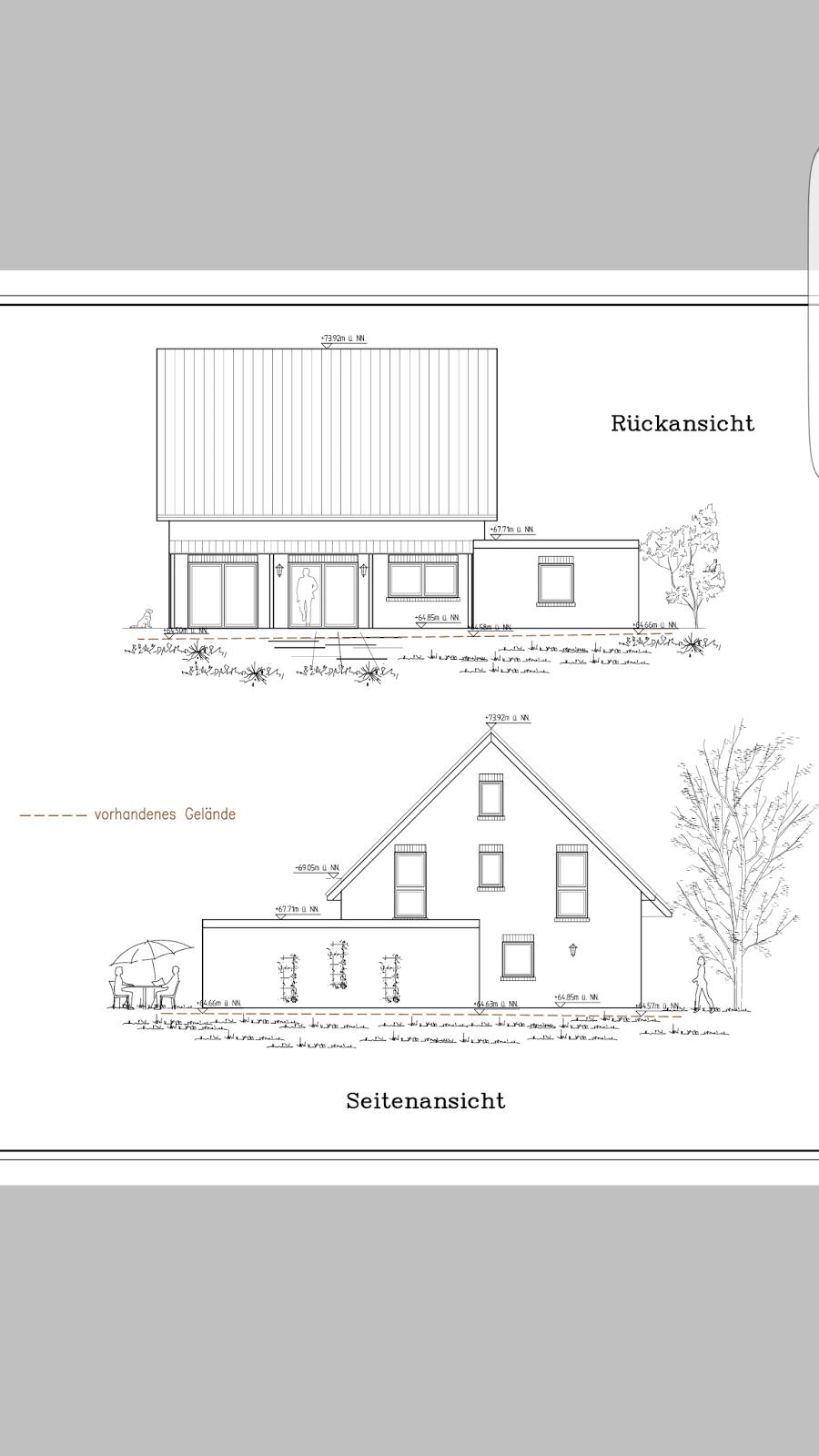 die 4 adler bauen in nrw ansichten des hauses und grundrisse. Black Bedroom Furniture Sets. Home Design Ideas