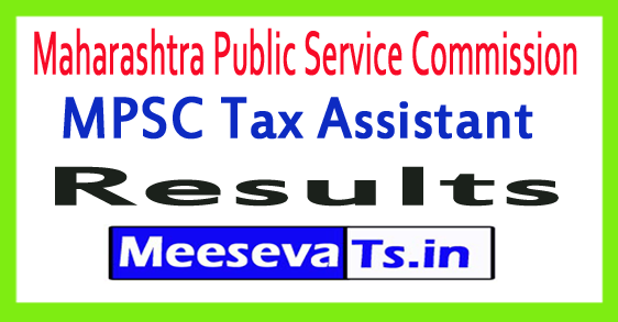 Maharashtra Public Service Commission MPSC Tax Assistant Result 2017