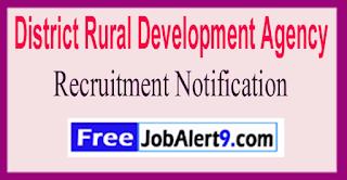 DRDA District Rural Development Agency Recruitment Notification 2017  Last Date 20-06-2017