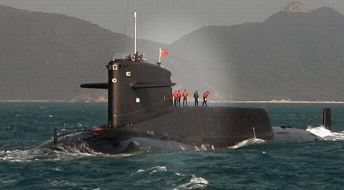 Kapal selam China type siluman bertenaga nuklir