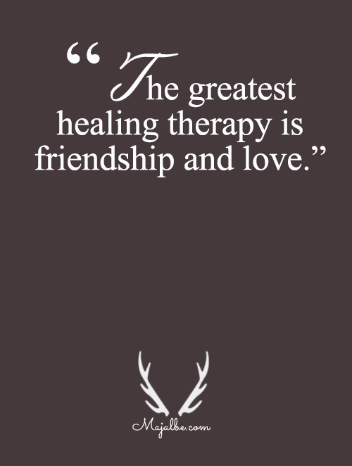 The Greatest Healing Therapy