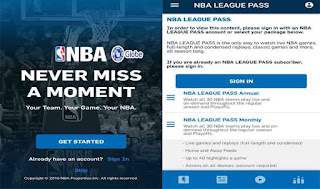 Globe NBA League Pass