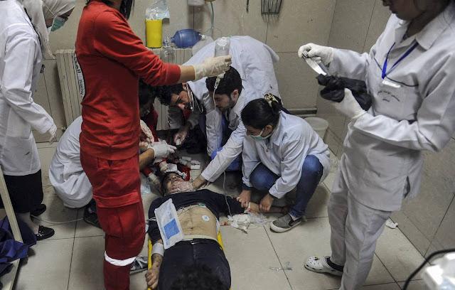 Ataque químico en Damasco dejó 40 muertos