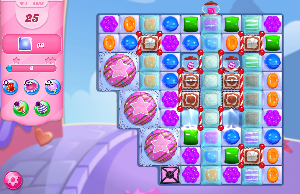 Candy Crush Saga level 5895
