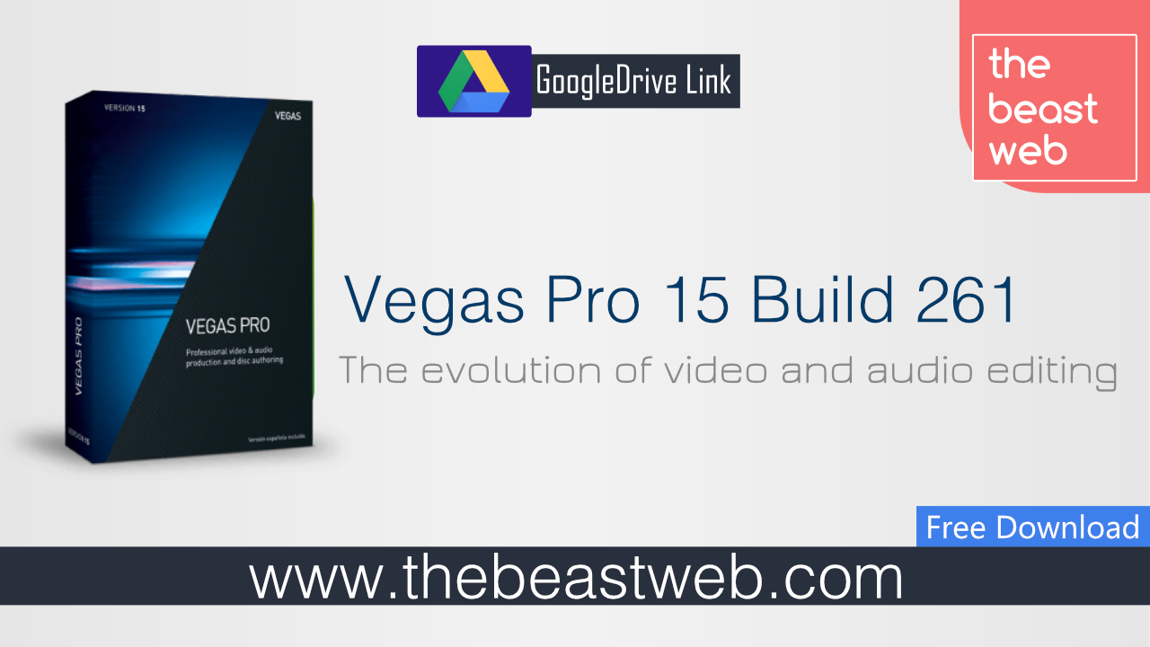 Magix Vegas Pro 15 Build 261 Portable Full - thebeastweb
