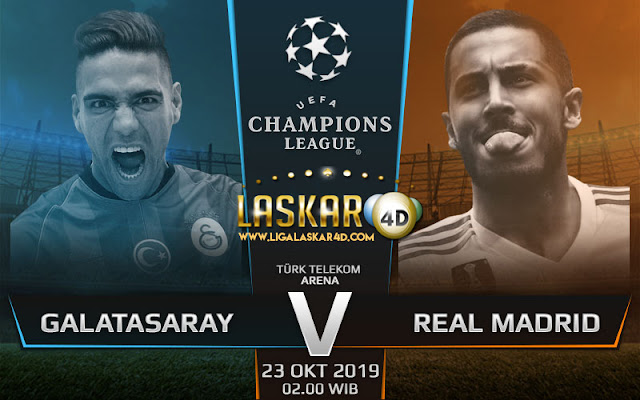 Prediksi Pertandingan Bola Galatasaray vs Real Madrid 23 Oktober 2019