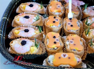 japanese inari sushi bento appetizers