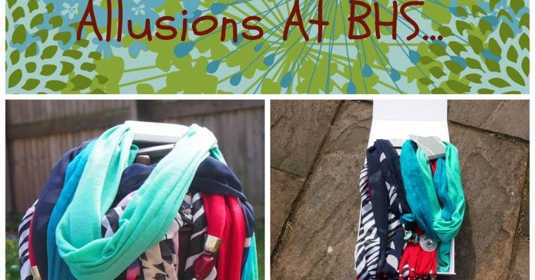 allusions scarf necklace at bhs justine