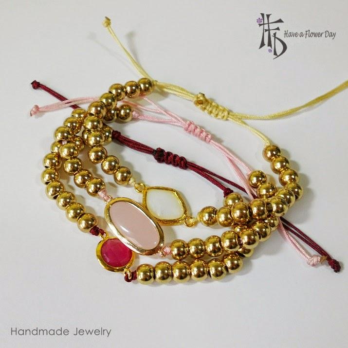 TILOS #01. Pulseras con ágatas · Agate bracelets