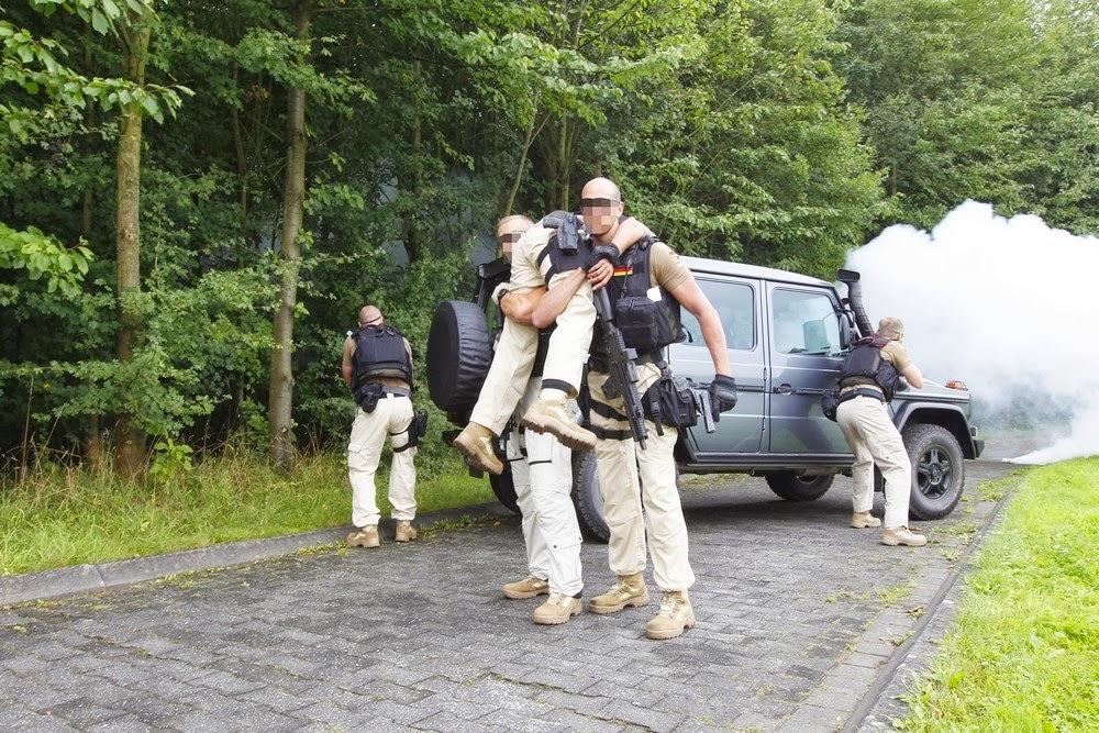 Personenschutz Bundespolizei