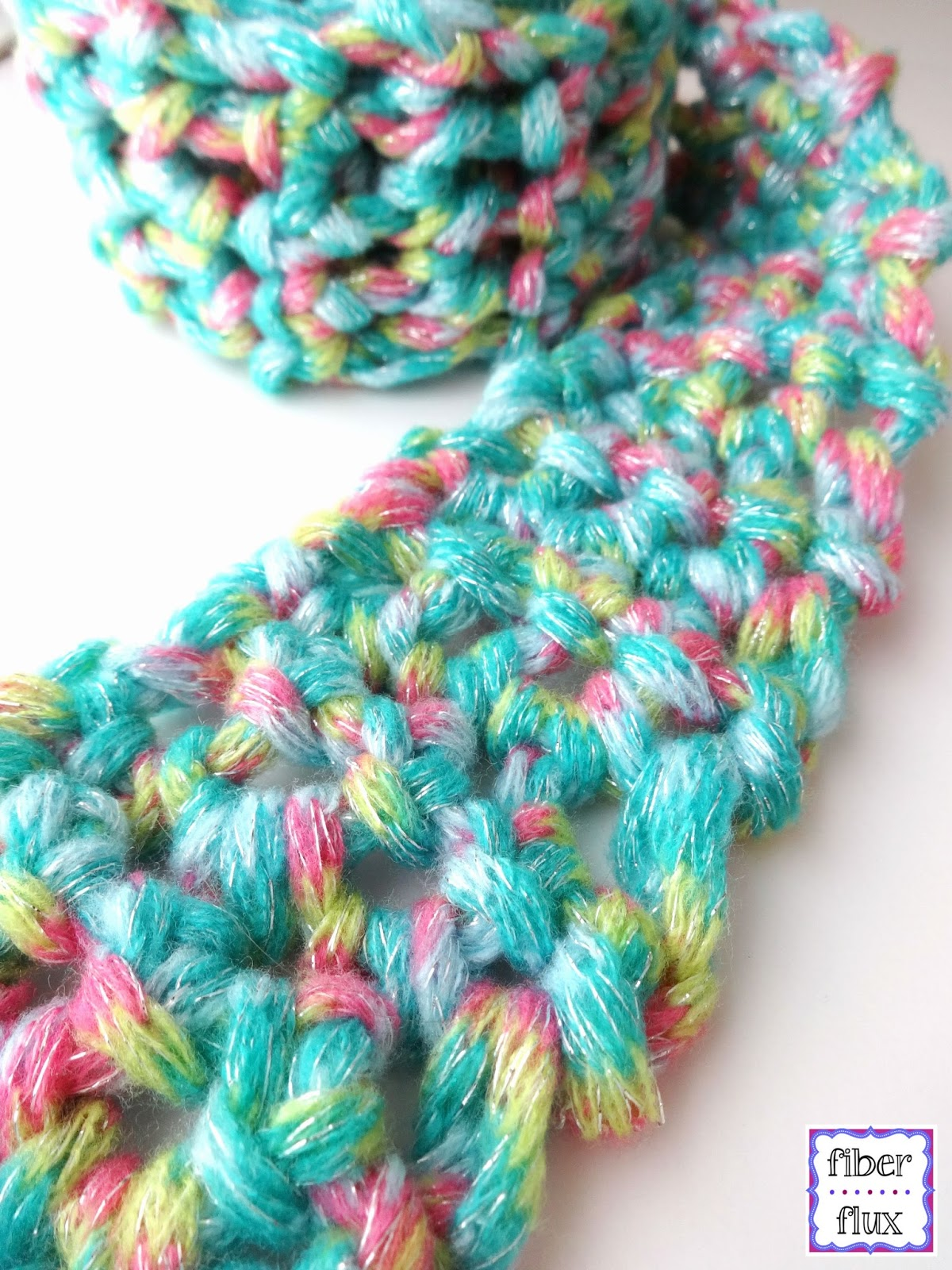 Fiber Flux Free Crochet Patternfun Finger Crochet Scarf For Kids