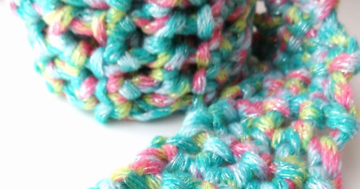 Fiber Flux: Free Crochet Pattern...Fun Finger Crochet Scarf for Kids!