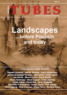 landscape painting in Tubes magazine