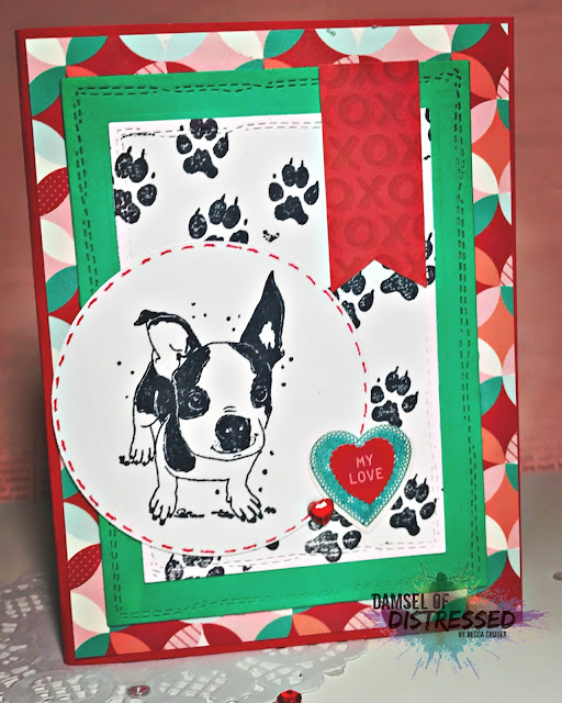 puppy_dog_valentine's_day_stamped_card