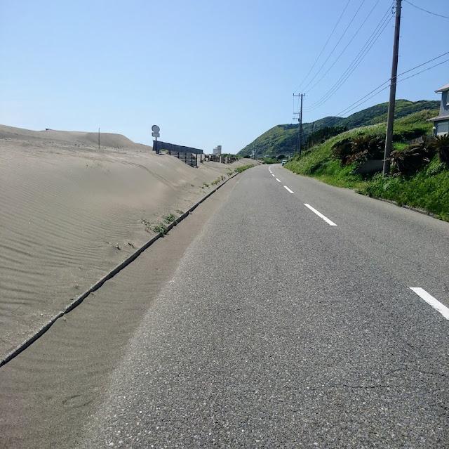 房総フラワーライン 平砂浦海岸