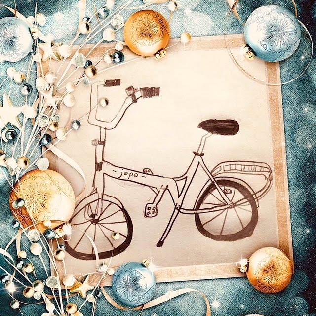 Joulujopo-piirustus