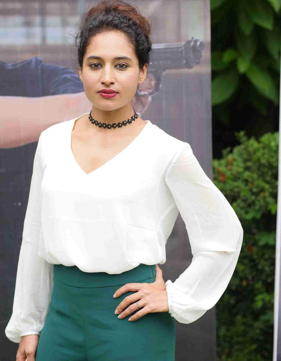 Indian Actress Pooja Ramachandran at Police Diary 2.0 Movie Press Meet